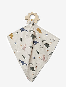 Dines teether cuddle cloth - kocyki - dino mix