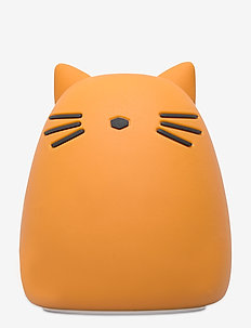 Winston night light - decor - cat mustard