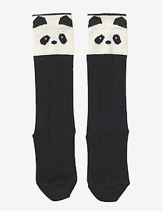 Sofia cotton knee socks - 2 pack - PANDA CREME DE LA CREME