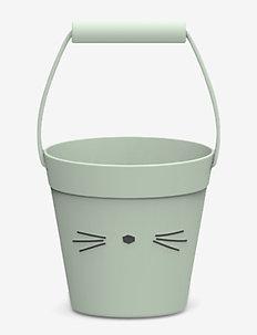 Linda bucket - CAT DUSTY MINT