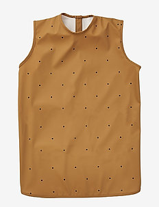 Dave apron - CLASSIC DOT MUSTARD
