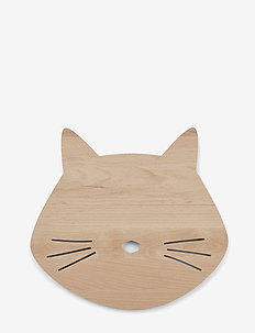 Troy wooden lamp - kuchnia - cat natural
