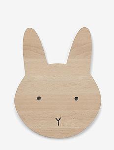 Troy wooden lamp - decor - rabbit natural