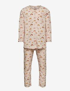 Olly Pyjamas Set - sets - rainbow love sandy