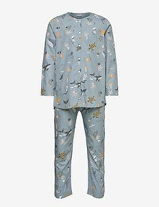 Olly Pyjamas Set - set - sea creature mix