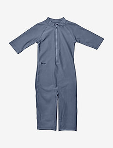Kyle Swim jumpsuit - BLUE WAVE