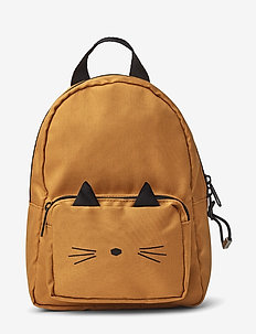 Saxo mini backpack - CAT MUSTARD