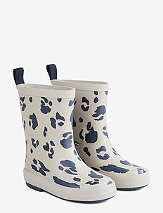 Rio Rain Boot - gummistøvler - leo ecru