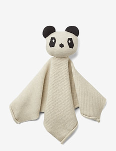 Milo knit cuddle cloth - play time - panda beige beauty