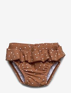 Elise baby girl swim pants - stroje kąpielowe - confetti terracotta