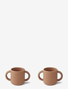 Gene silicone cup - 2 pack - filiżanki i kubki - cat tuscany rose