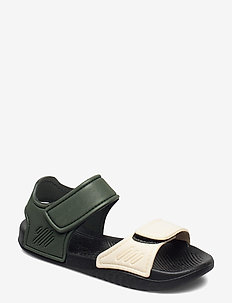 Blumer sandals - sandały - hunter/black mix