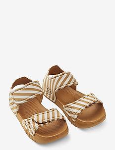 Blumer sandals - sandały - stripe