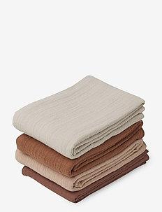 Leon muslin cloth - 4 pack - muslins - rose mix