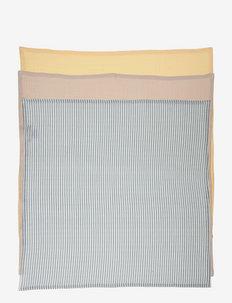 Line muslin cloth - 3 pack - muslins - sea blue stripe mix