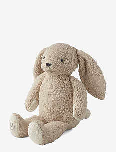 Fifi the rabbit - play time - pale grey