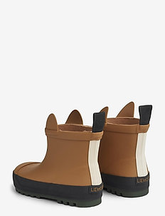 Tekla rain boot - uforede gummistøvler - rabbit mustard mix