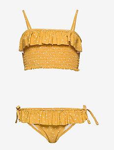 Riley bikini set - CONFETTI YELLOW MELLOW