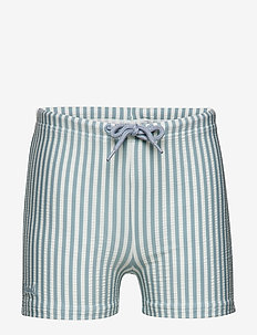 Otto swim pants seersucker - szorty - y/d stripe