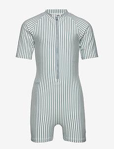 Max Swim jumpsuit seersucker - combinaisons uv - y/d stripe