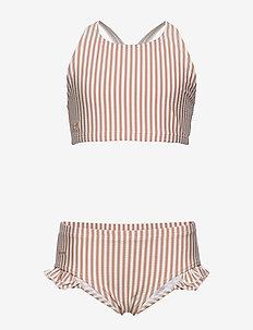 Juliet bikini seersucker - bikinis - y/d stripe