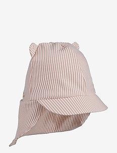 Senia sun hat seersucker - kapelusz przeciwsłoneczny - y/d stripe