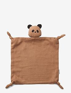 Agnete cuddle cloth - baby toys - panda tuscany rose