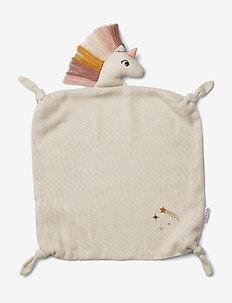 Agnete cuddle cloth - schmusetuch - unicorn sandy