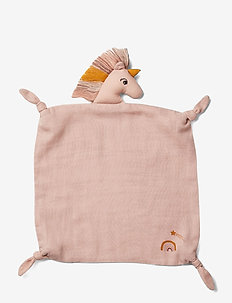 Agnete cuddle cloth - cuddle blankets - unicorn sorbet rose