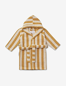 Reggie bathrobe - szlafroki - y/d stripe