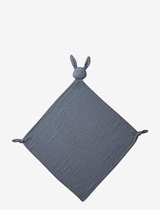 Robbie multi muslin cloth - produkty dla niemowlaków - rabbit blue wave