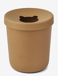 Evelina trash bin - przechowywanie - mustard