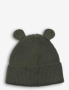 Gina beanie - kapelusze - hunter green