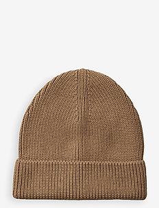 Ezra beanie - kapelusze - camel