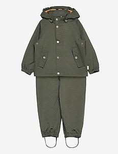 Dakota rainwear - sett & regndresser - hunter green