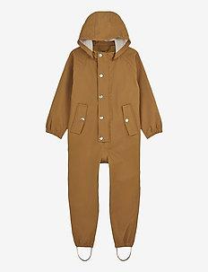 Jared rainsuit - sett & regndresser - mustard