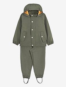 Parker rainwear - sett & regndresser - hunter green