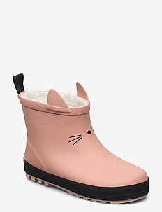 Jesse thermo rain boot - rubberboots - dark rose/black mix