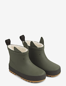 Jesse thermo rain boot - rubberboots - hunter green/black mix