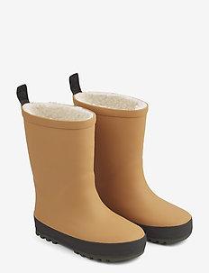 Mason thermo rain boot - rubberboots - mustard/black mix