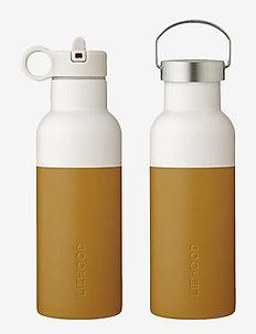 Neo water bottle - butelki i termosy - mustard/sandy mix