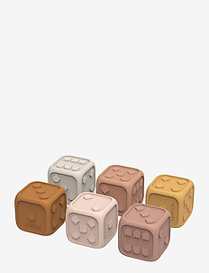 Gloria dices 6-pack - zabawki dla dzieci - rose multi mix
