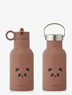 Anker water bottle - vannflasker - panda dark rose