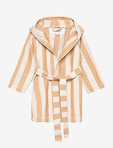 Dana bathrobe - szlafroki - y/d stripe