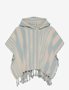 Roomie poncho - ponczo kąpielowe - y/d stripe
