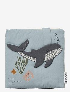 Sammy fabric book - zabawki - sea creature mix