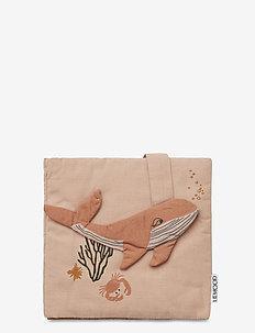 Sammy fabric book - zabawki - sea creature rose mix