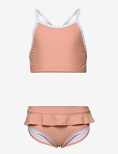 Marilyn bikini set - bikinis - coral blush