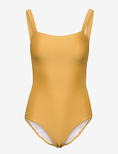 Patricia mommy swimsuit structure - badedragter - yellow mellow