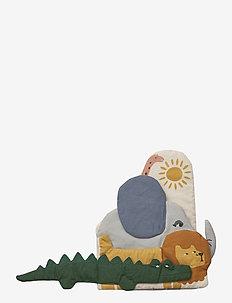 Kala fabric book - zabawki dla dzieci - safari mix